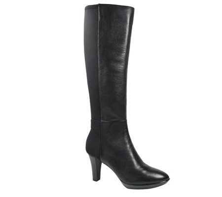 J. Renee Leather Tall Boots - Callysta