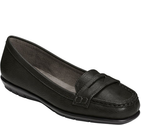 A2 by Aerosoles Stitch 'N Turn Penny Loafers -Sandbar