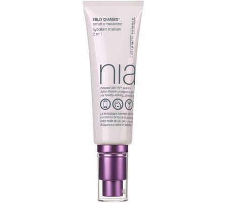 nia Fully Charged Serum x Moisturizer