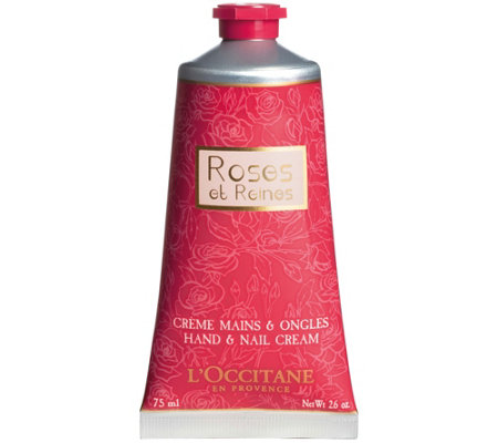 L'Occitane Roses et Reines Hand and Nail Cream,2.5 oz