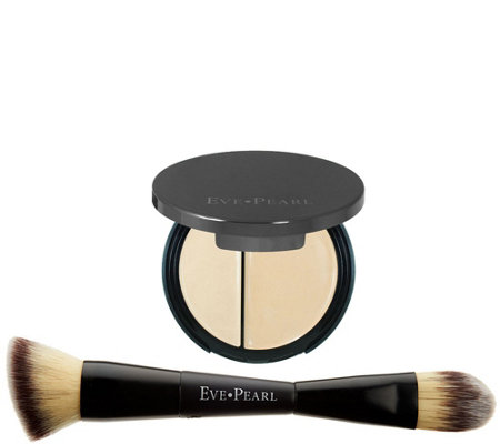 EVE PEARL HD Dual Foundation & 201 Contour B lender Brush