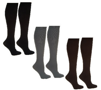 Legacy Unisex Compression Socks 3 Pairs - A222699
