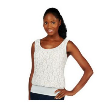Kathleen Kirkwood Undercover Agent Lace Overlay Cami