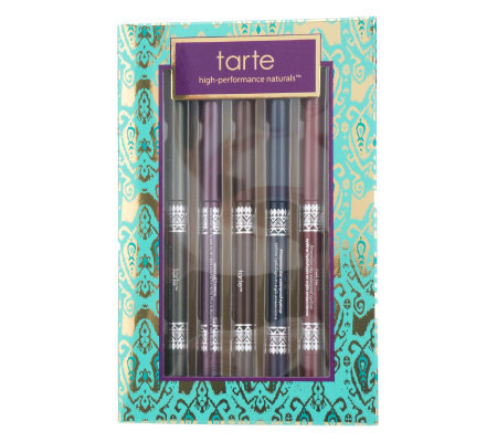 tarte Set of 5 Amazonian Clay Waterproof Eyeliners