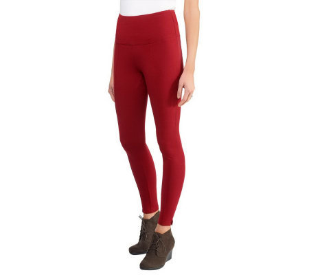 Women with Control Tummy Control RegularLeggings w/ Seam Detail
