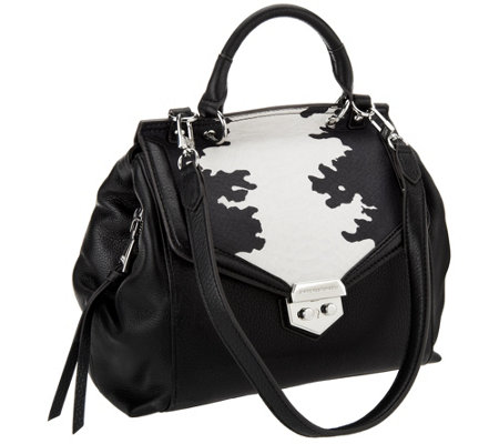 Aimee Kestenberg Pebble Leather Satchel - Emma
