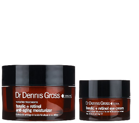 Dr. Gross Ferulic Acid and Retinol Duo for Face and Eye
