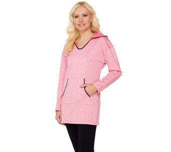 Linea Leisure by Louis Dell'Olio Heather Knit Hoodie - A273299