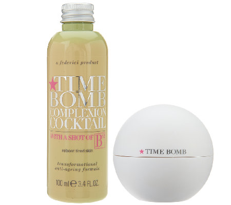 Time Bomb Complexion Cocktail w/ B12 & Powerball Moisture Duo