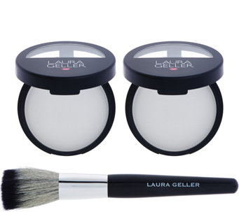 Laura Geller Super-Size Matte Maker Duo with Brush - A274299
