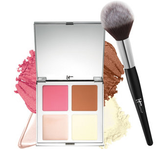 IT Cosmetics IT's Your Must-Haves Palette w/Brush - A274399