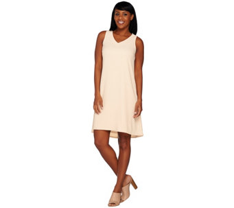 Linea by Louis Dell'Olio Crepe Gauze Dress - A276299