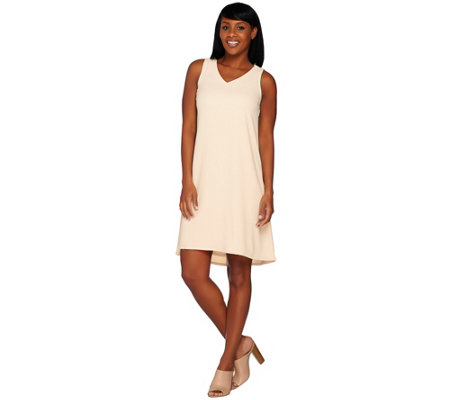 Linea by Louis Dell'Olio Crepe Gauze Dress
