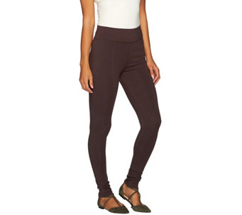 """As Is"" LOGO by Lori Goldstein Pull-On Knit Pants with Pintuck Detail - A277599"