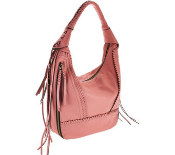 """As Is"" orYANY Soft Nappa Leather Hobo - Michelle - A278399"