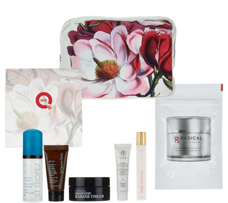 QVC Beauty Treat Yourself 6-pc Collection with Bag