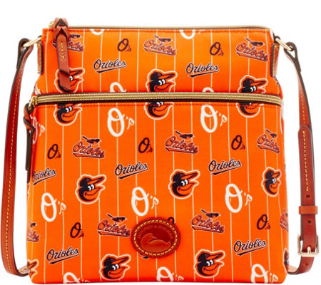 Dooney & Bourke MLB Nylon Orioles Crossbody