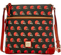 Dooney & Bourke NFL Browns Crossbody - A285699