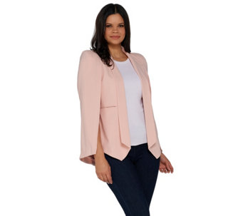 G.I.L.I. Cape Blazer with Front Pockets - A286999