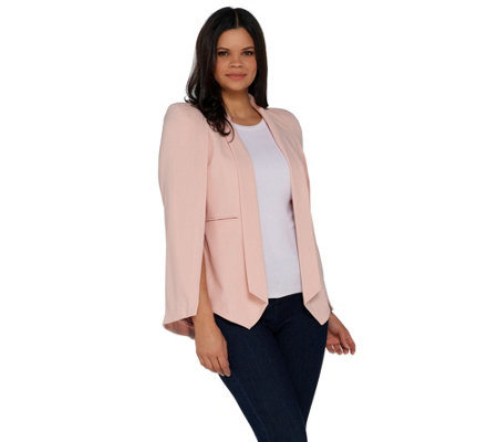 G.I.L.I. Cape Blazer with Front Pockets
