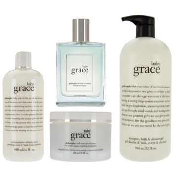 philosophy baby grace 4-piece fragrance layering set