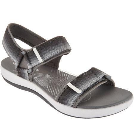 CLOUDSTEPPERS by Clarks Double Adjust Sport Sandals - Brizo Ravena