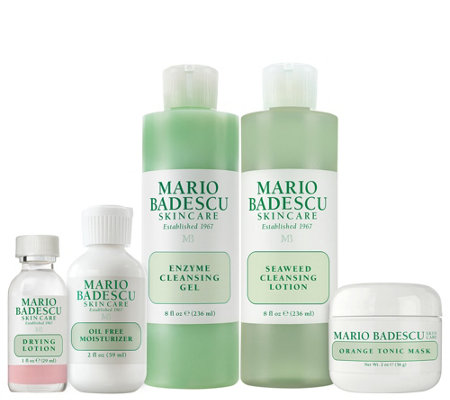 Martha Stewart & Mario Badescu Skin Care TEEN 5-pc Kit Auto-Delivery