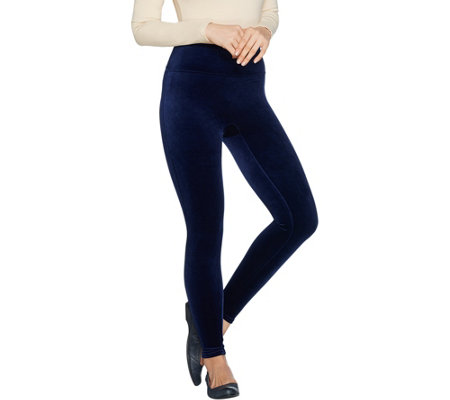 """As Is"" Spanx Velvet Leggings"