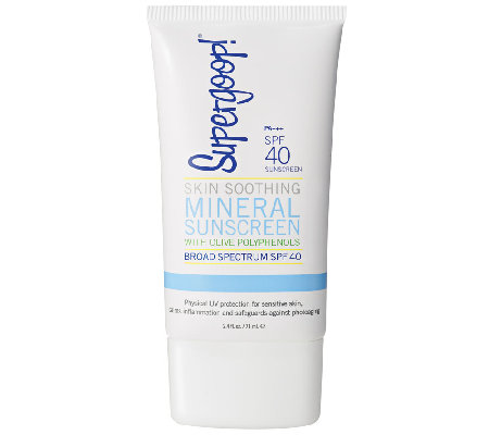 Supergoop! Skin Soothing Mineral Sunscreen SPF40, 2.4 oz