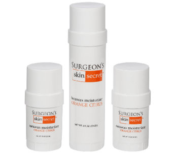 Surgeon's Skin Secret 3-Pc Orange Citrus Moisturizer Twist-Ups - A337799