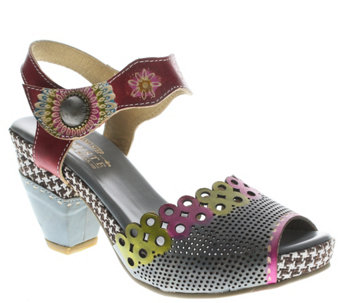 Spring Step L'Artiste Leather Sandals - Jive - A339499