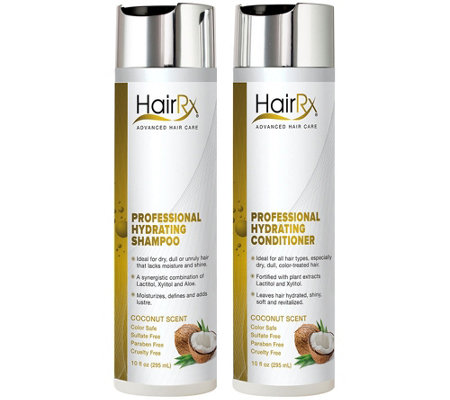 HairRx Professional Hydrating Duo Luxe Lather -Coconut