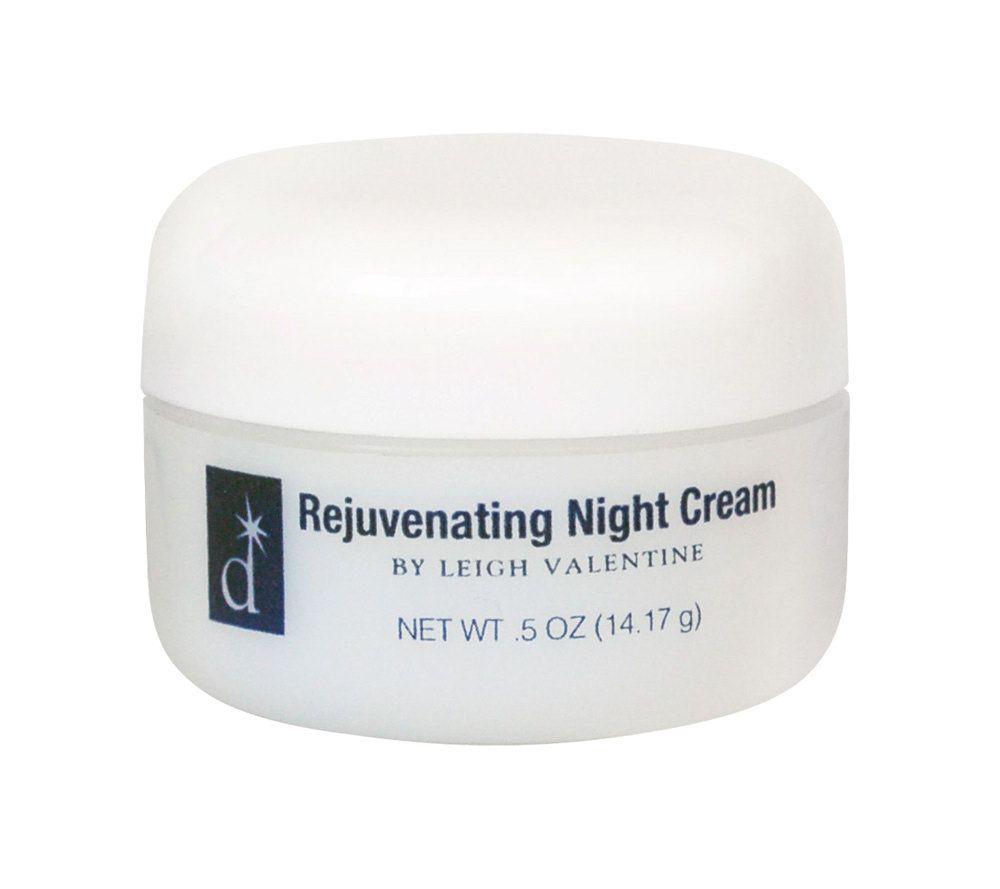 Distinction .5 Oz Rejuvenating Night Cream By Leigh Valentine U2014 QVC.com