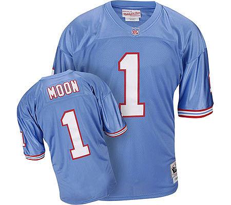 ... NFL Houston Oilers 1993 Warren Moon Throwback Jersey — QVC.c ... 91bea4706
