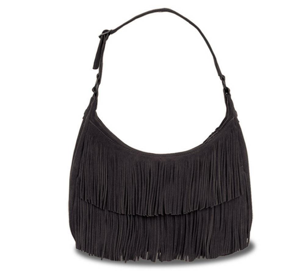 Minnetonka Hobo Fringe Bag - Page 1 — QVC.com