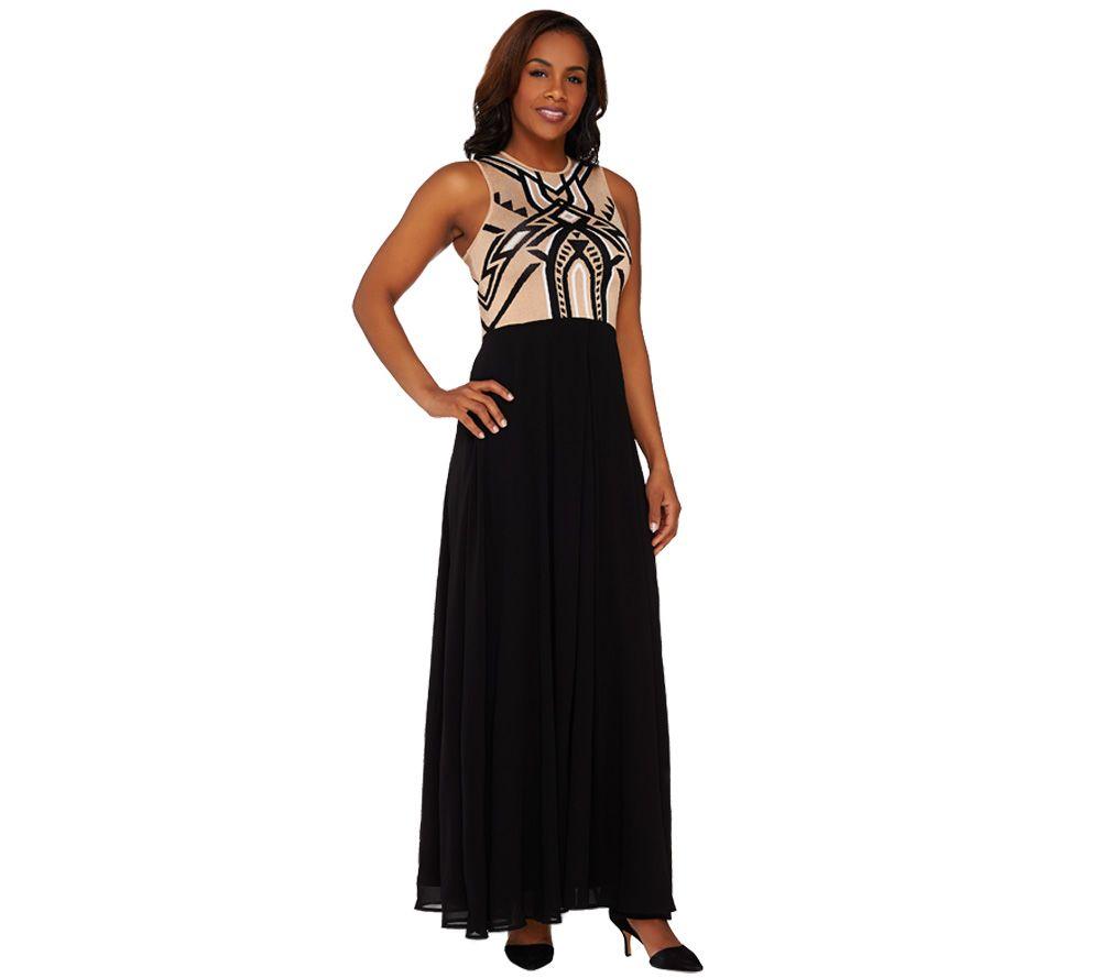 maxi dress qvc guide