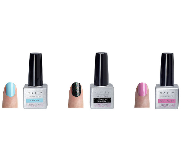 Mally 24/7 Gel Polish Say She\'s Fierce Trio - Page 1 — QVC.com