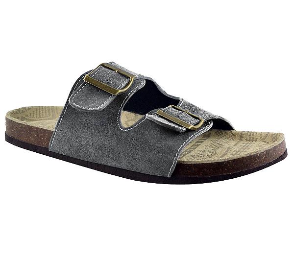 Mens Sandals Muk Luks Parker Mens Brown Suede Sandals Sandals Latest Collection