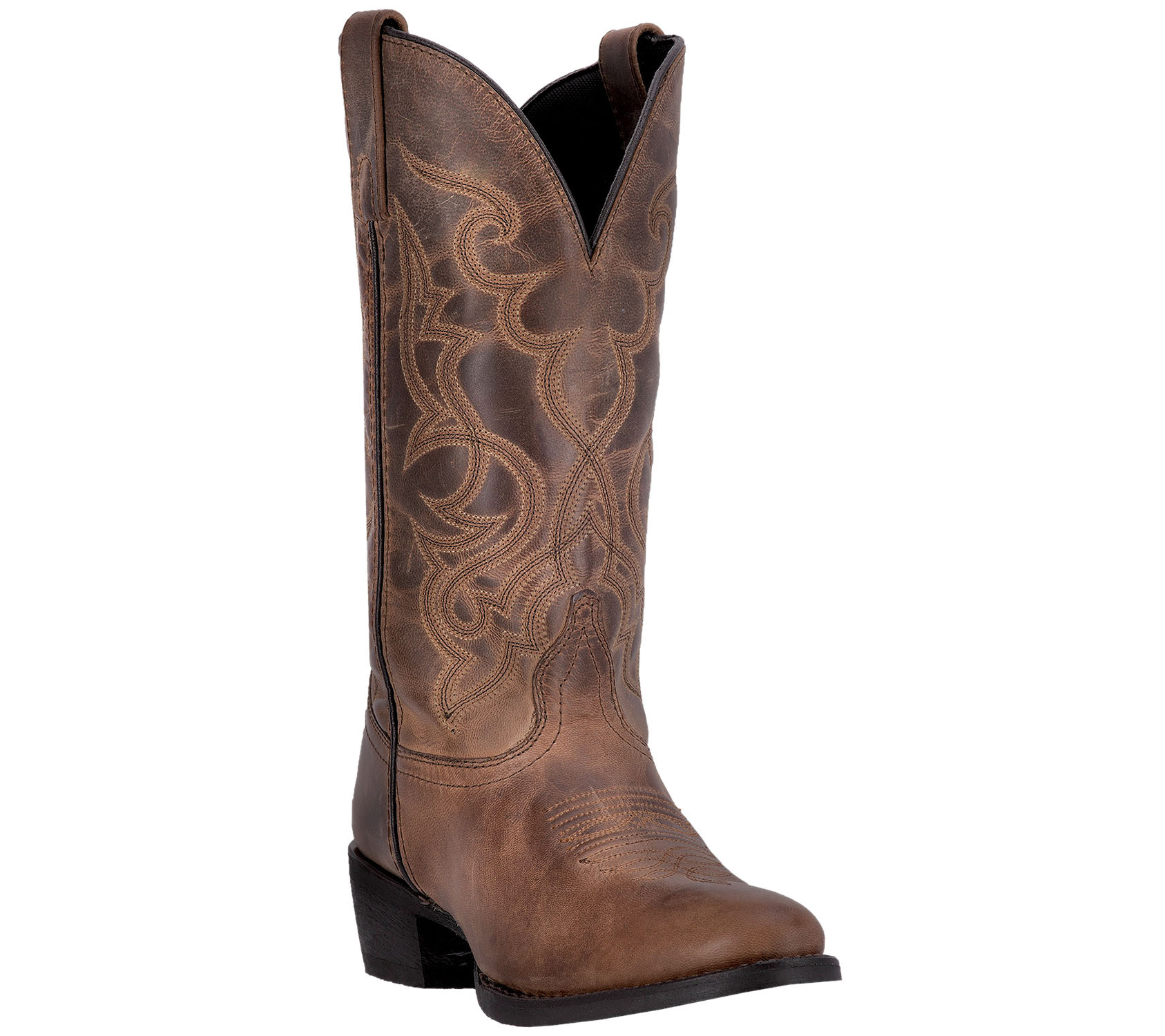 Laredo Leather Western Boots - Maddie - Page 1 — QVC.com