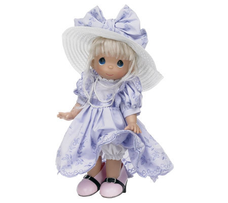 Precious Moments It's Hard to Fill Shoes 12&quot Vinyl Doll