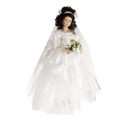 Modern Bride Nicole Limited Edition Doll W Stand By Marie