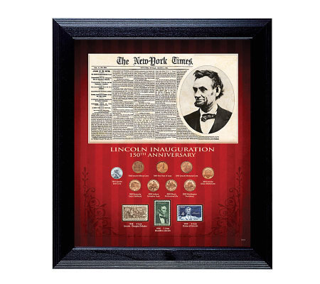 New York Times Lincoln Inauguration 150th Anniv. Collection