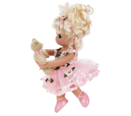 Precious Moments Dance with Me Blonde 9&quot VinylDoll