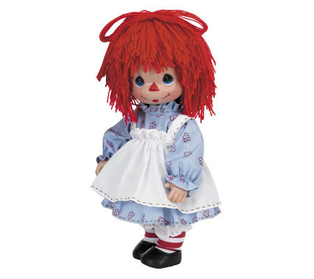 Precious Moment Timeless Traditions Raggedy Ann Doll