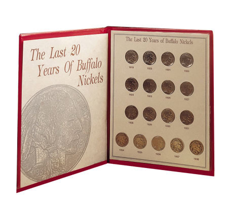 Last Twenty Years of Buffalo Nickels