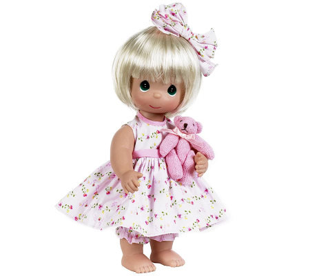 Precious Moments Bear-Foot Blessings Doll