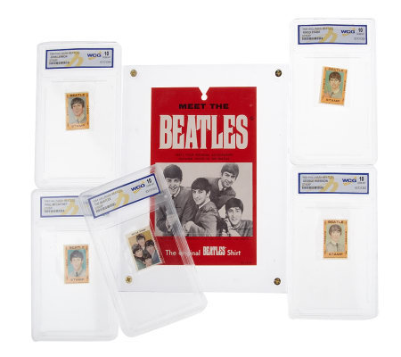 The Beatles 1964 Vintage Card & Stamp Collection