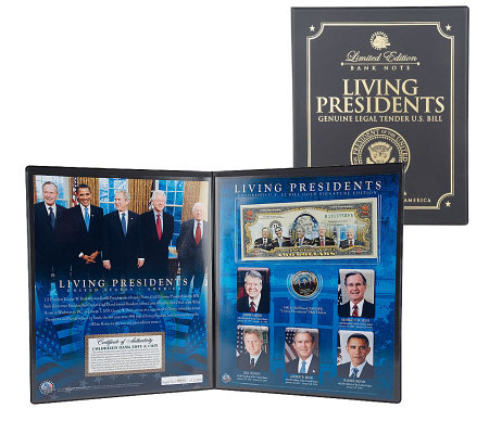 Quot The Living Presidents Quot Limited Edition 2 Bill Amp Jfk Half