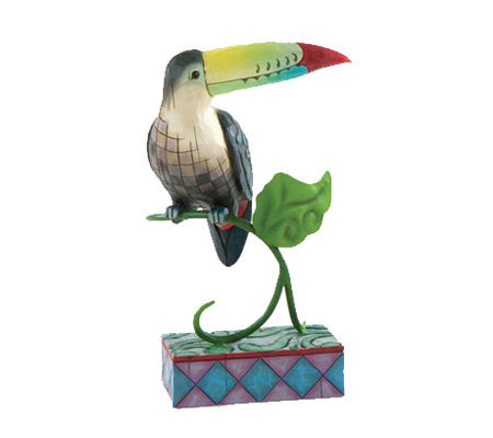 Jim Shore Heartwood Creek Toucan Figurine