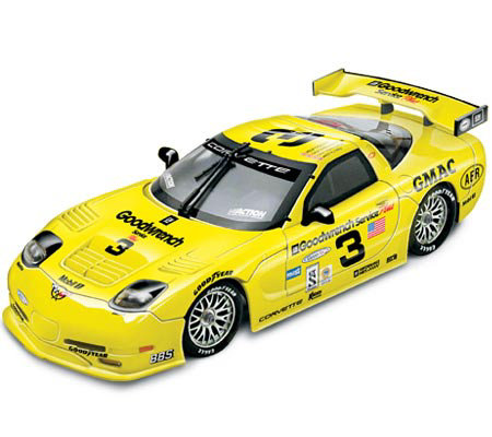 Dale Earnhardt GM Goodwrench 2001 1:18 Scale Raced Corvette